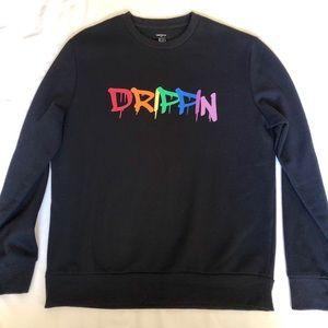 "Pop Culture ""DRIPPIN"" Crewneck Sweatshirt"